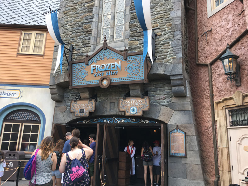 Frozen Ever After at Epcot is a FastPass+ must