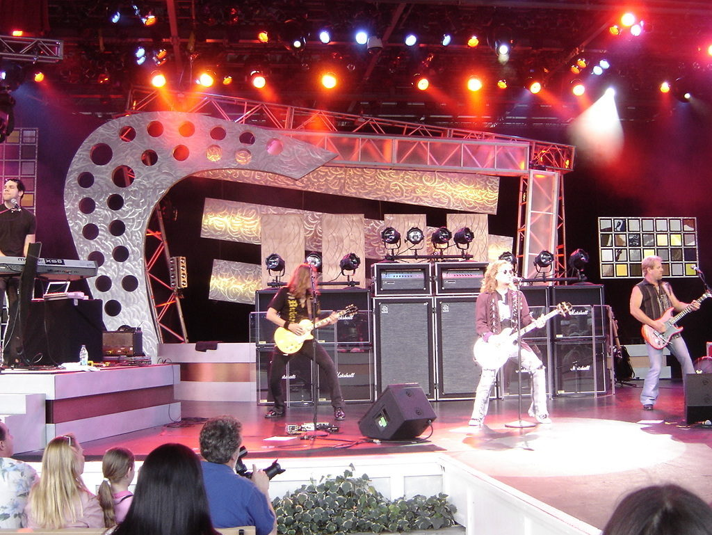 Night Ranger performs at the 2008 Epcot International Food & Wine Festival