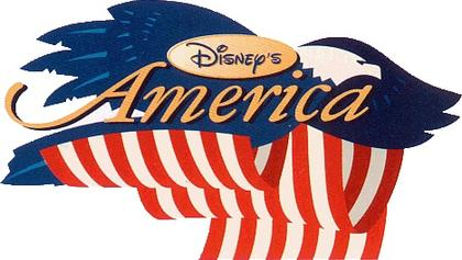 Logo for Disney's America, the Disney park that never was