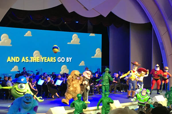 Music of Pixar Live stage show at Disney's Hollywood Studios