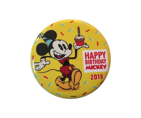 Mickey Birthday Button